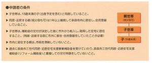 奈良市住宅支援対象