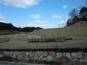 キトラ古墳 阿部山